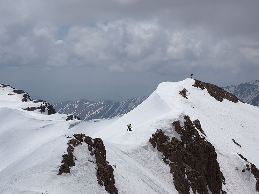 Angmar summit on Doberar ridge