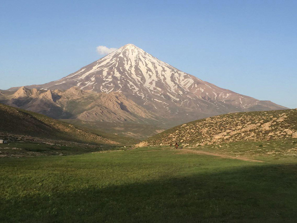 Damavand scene from west