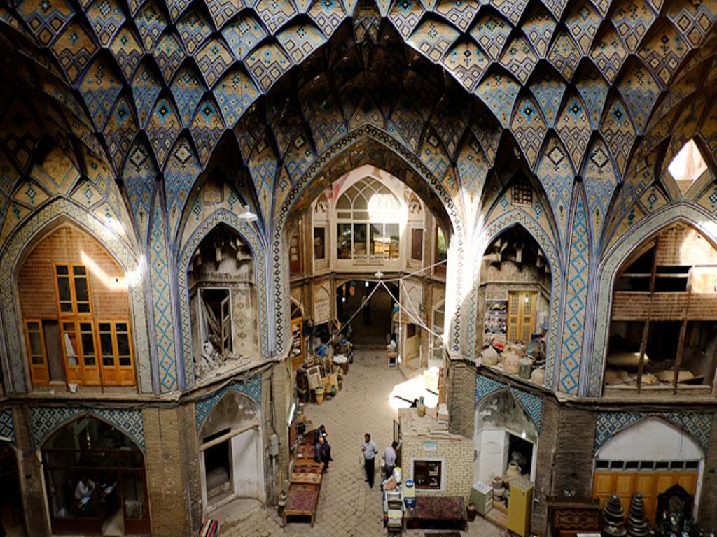 kashan grand bazar
