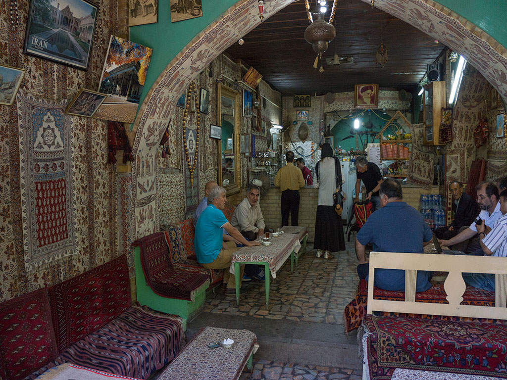 Persian traditional tea house and coffeeshop
