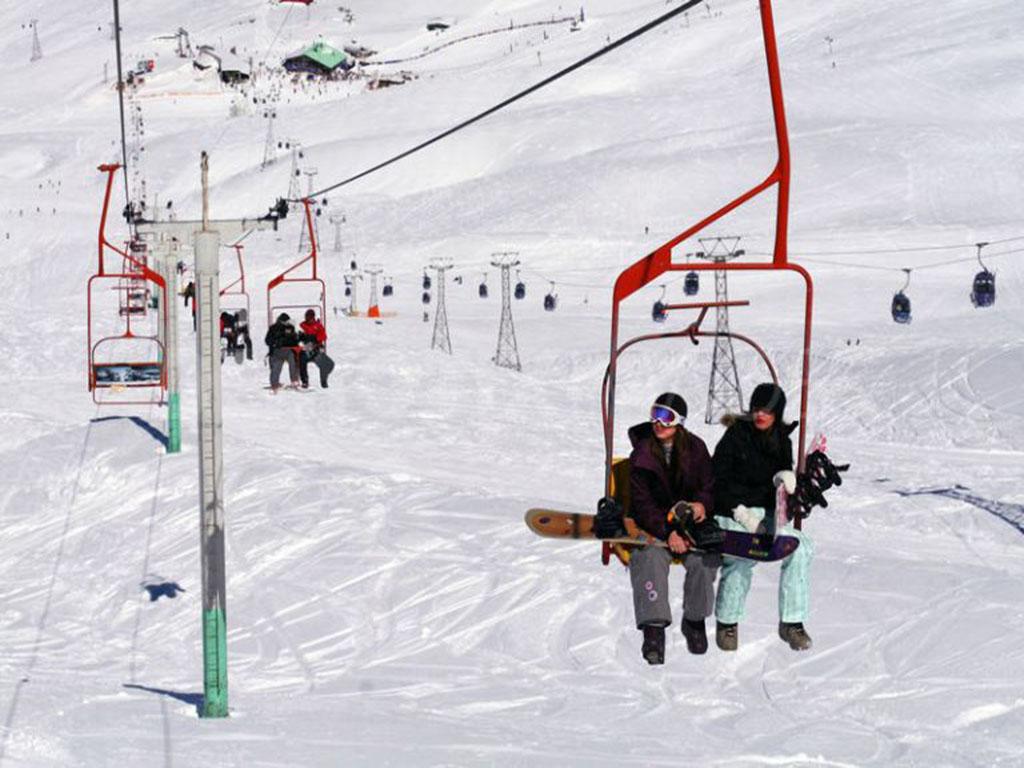 Dizin Ski resort, lifts