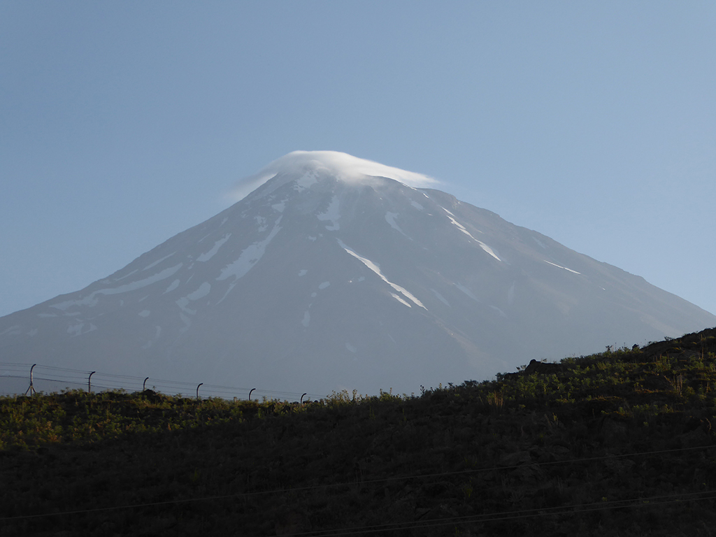 Damavand scene from Polour village