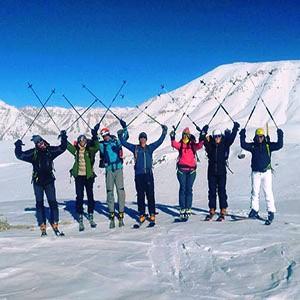 Dizin Ski Resort, On & Off-Piste Skiing to Darbandsar resort