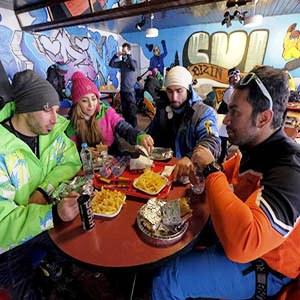 Dizin Ski Resort, Reataurant