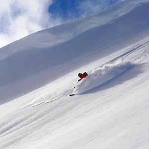 Dizin Ski Resort, Off-Piste skiing from Sichal summit (3720 m)