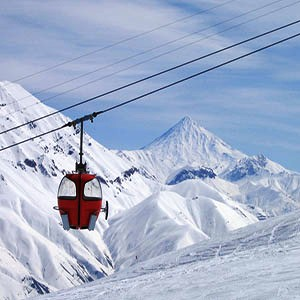 Dizin Ski Resort, Damavand scenery