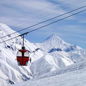 Dizin Ski Resort, Damavand scenery