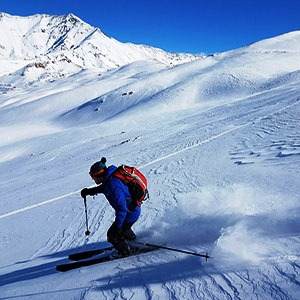 Dizin Ski Resort, On & Off-Piste Skiing