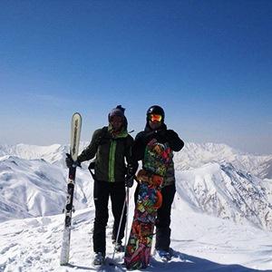Dizin Ski Resort, Gavazni summit (3300 m)