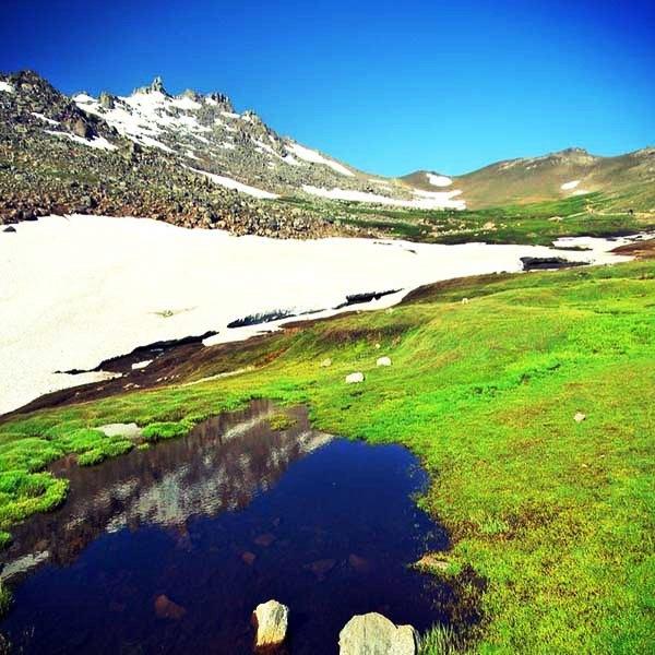 Trekking to Alvand Summit (3570 m)