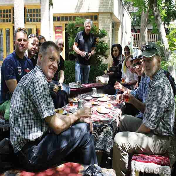 Isfahan, cozy coffee shop