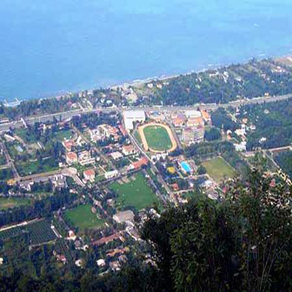 Caspian Sea & Mahmoodabad City