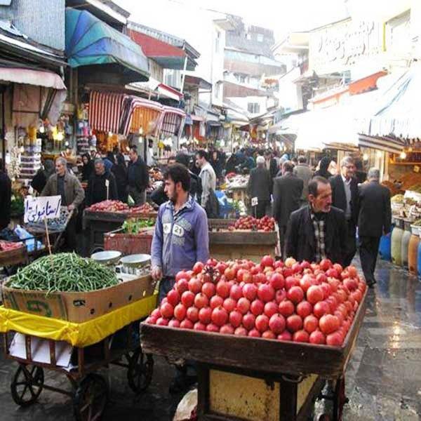 Rasht Tradtional Bazar