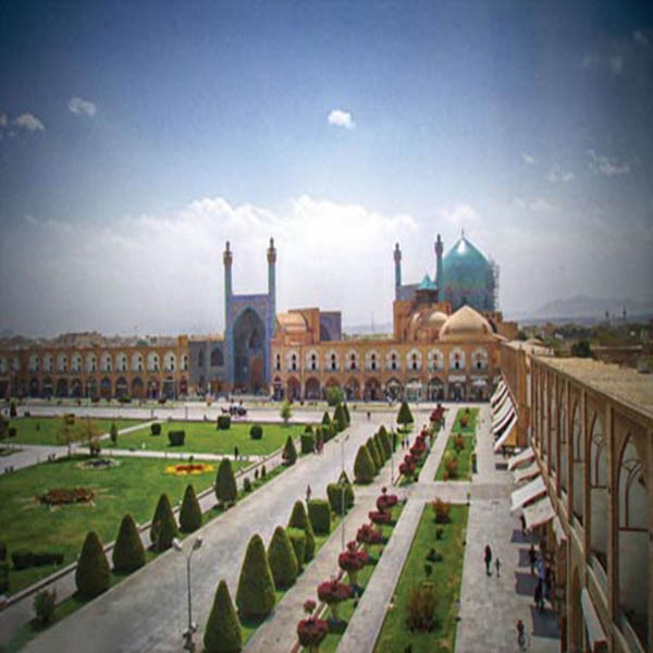 Isfahan, Naghshe Jahan square, UNESCO World Heritage