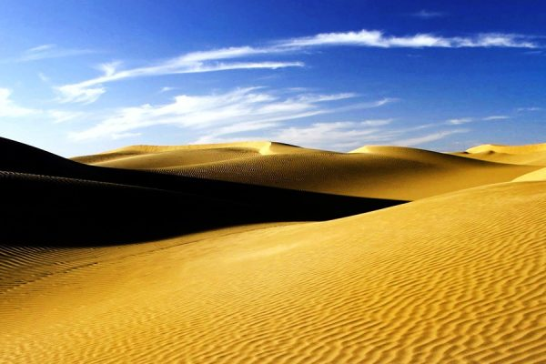 Travel Iran- Desert trekking tour- Maranjab desert safari- adventure