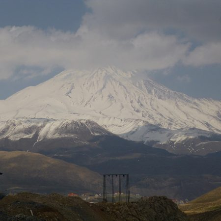 DAMAVAND SCENERY FROM POLOUR VILLAGE