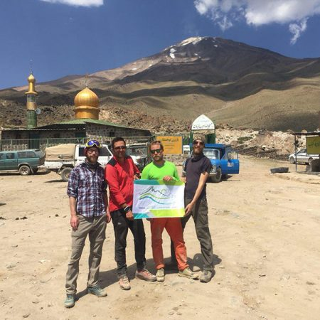 Goosfandsara 3000 m, start point of Damavand