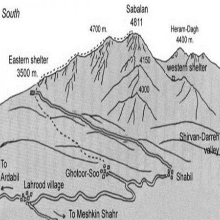 SABALAN MAP