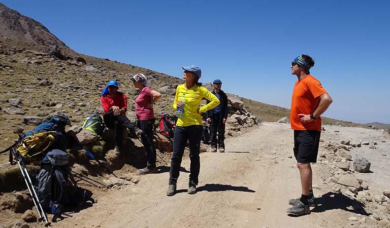 Iran Trekking Routes