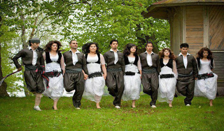 Kurdish Dance in Iran Cultural & Rural Tour