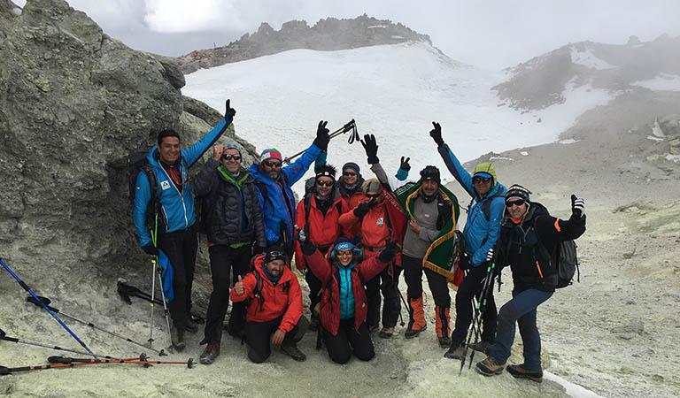 Top of Mount Damavand - Trekking Damavand Tour Northeast