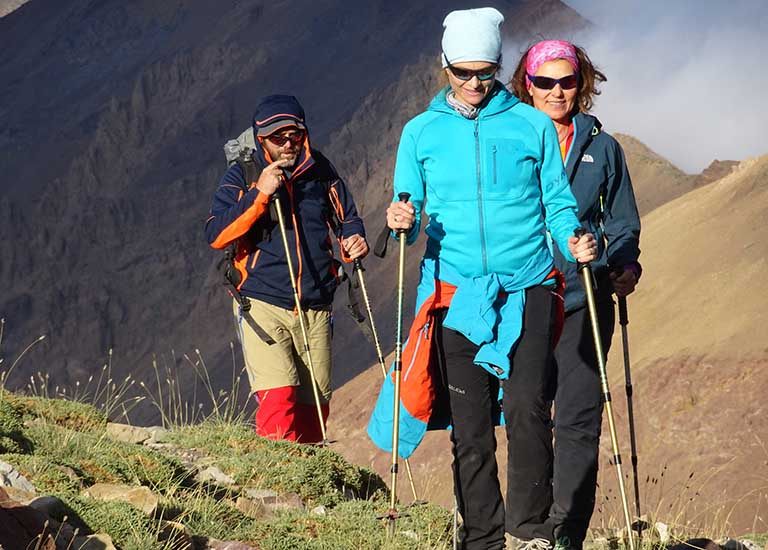 Trekking Iran Tours - Hiking on Alamkouh tour