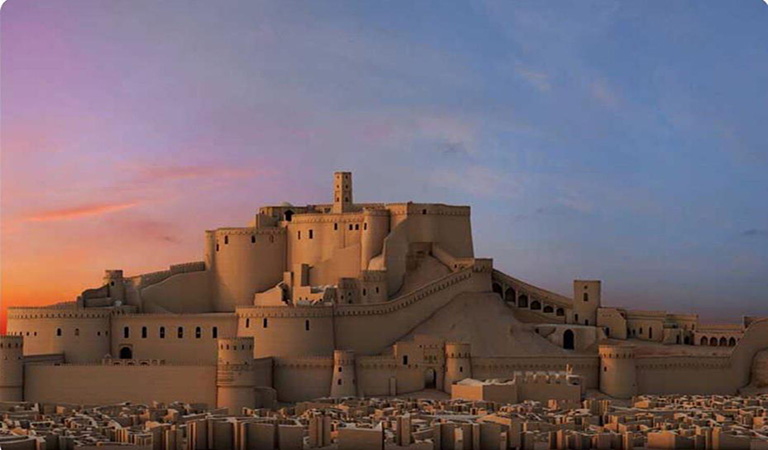 Iran Travel Guide Book - Iran Cultural Tours - Arg-e Bam in Kerman