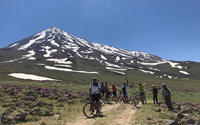 Mount Damavand Biking Tour Lar National Park