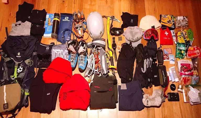 Mount Damavand Equipment List