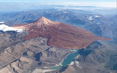 Damavand volcano Activity-Lava Movement