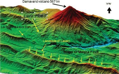 Damavand volcano Activity