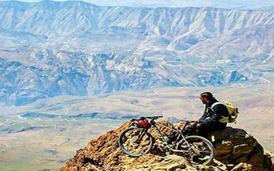 Mount Damavand Biking 5000 m