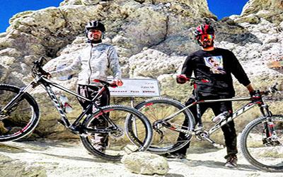 Mount Damavand Biking 5610 m