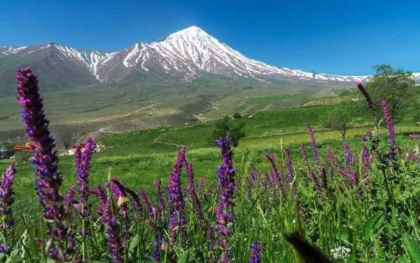 Damavand North East view from Nandal Village